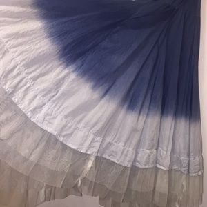 Candie's Skirts - Candies Blue Ombré Tiered Skirt 🐝 Size Large